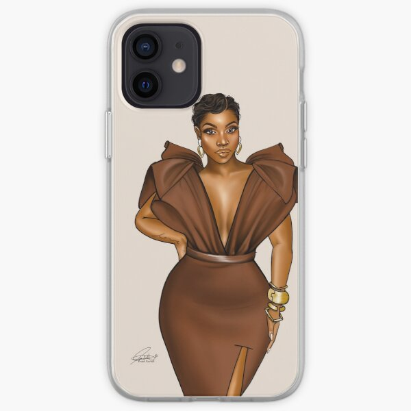 Brown sugar Beauty iPhone Soft Case