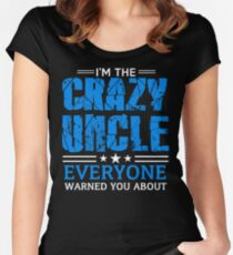 Crazy Uncle Women's Fitted Scoop T-Shirt