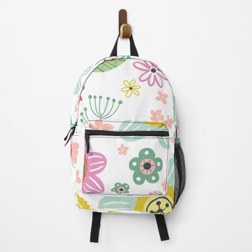Spring floral pattern Backpack