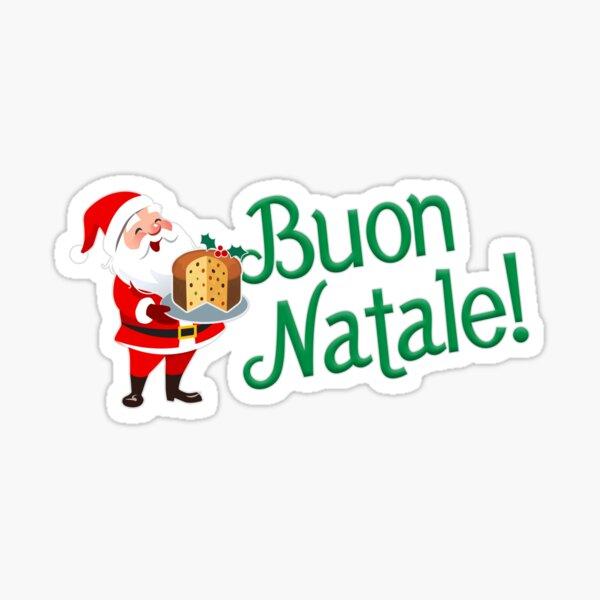 Santa's Panettone - Buon Natale! Sticker
