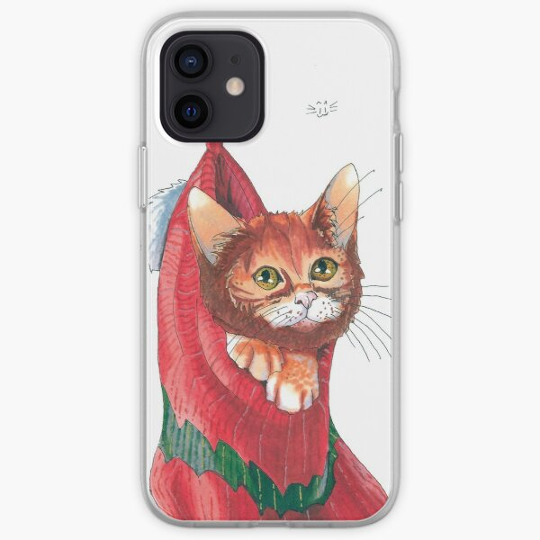 Christmas cat iPhone Soft Case