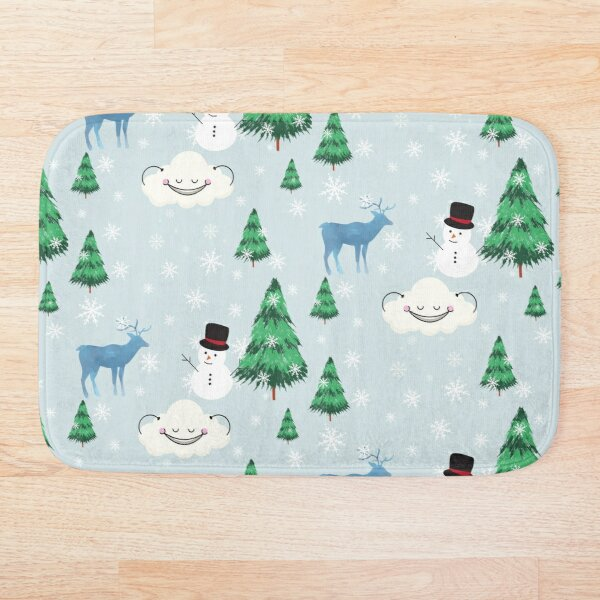 CHRISTMAS Bath Mat