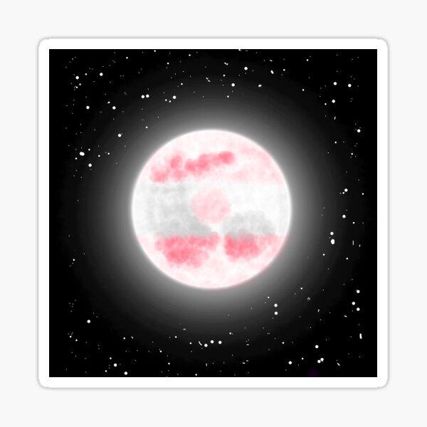 Sapphic Moon Sticker