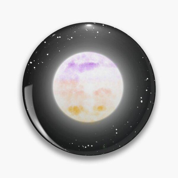 Trixic Moon Pin