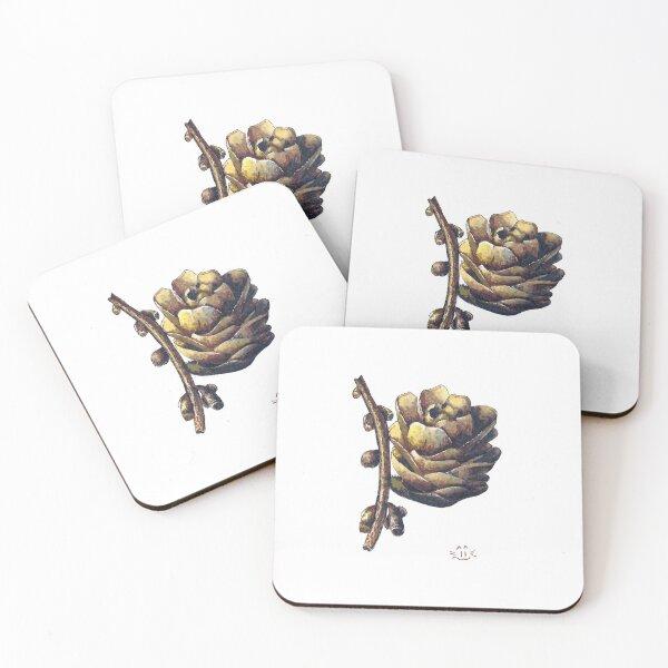 Scandi cone  Coasters (Set of 4)