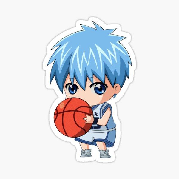 kuroko no basket chibi mask  Sticker