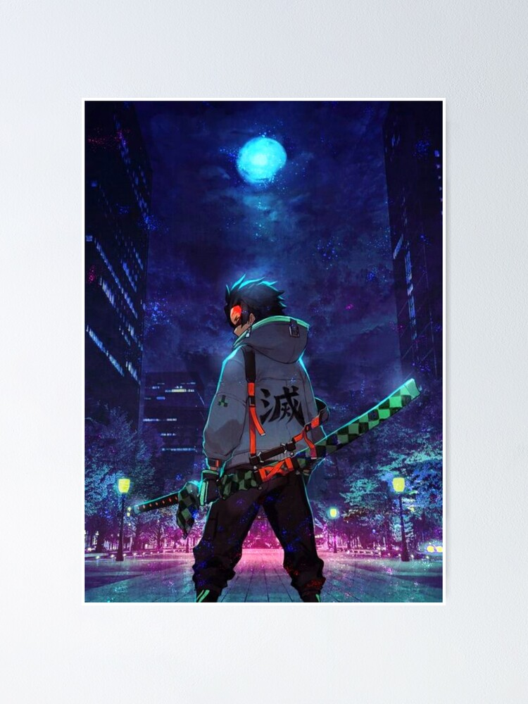 Alternate view of Tanjiro Kamado Demon Slayer Poster