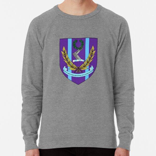 University College London Coat of Arms with Academic Scarf Lightweight Sweatshirt
