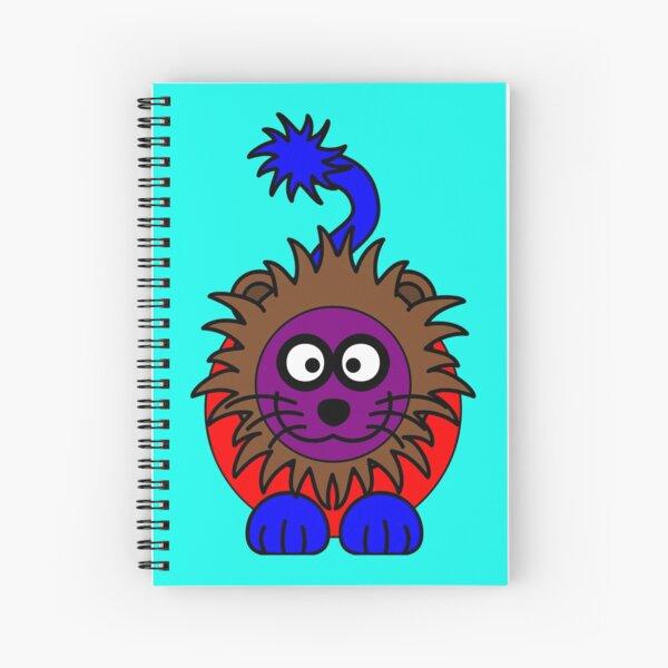 Rainbow Lion Spiral Notebook