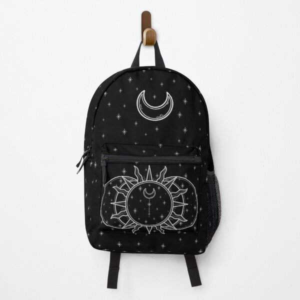 Celestial Sun and Moon and Stars Backpack