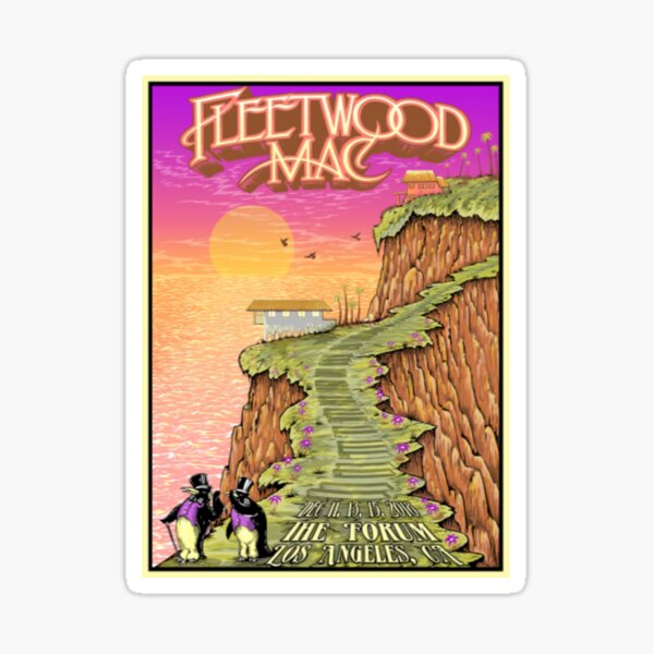 Fleetwood Artwork Mac The Torum Sticker