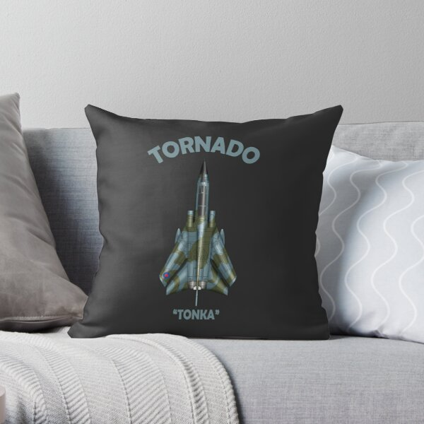 The Tornado Throw Pillow