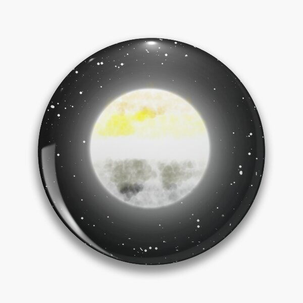 Angled Aroace Moon Pin