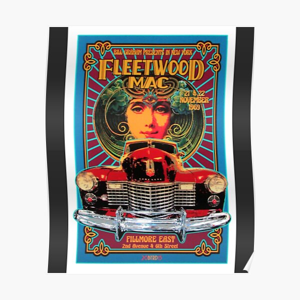 Fleetwood T-ShirtTribute Poster New Original 1969 Poster