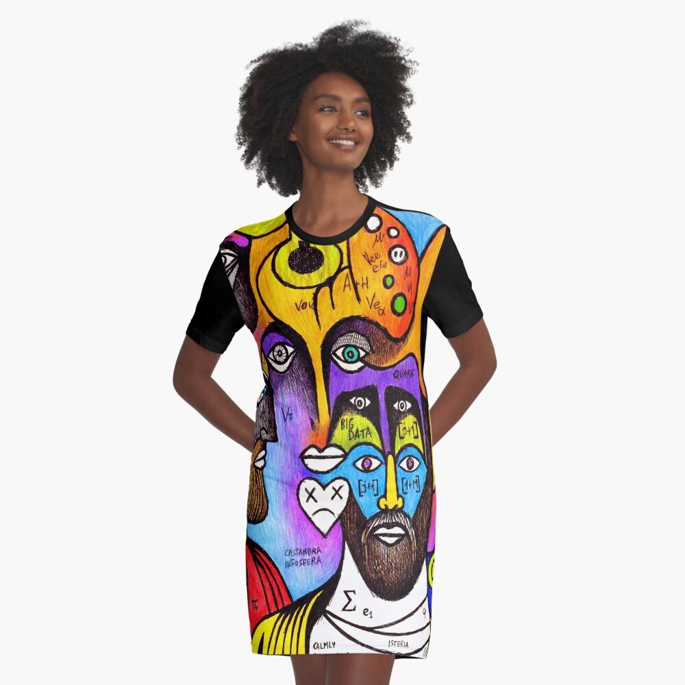 Julian the Roman emperor (original illustration) Graphic T-Shirt Dress