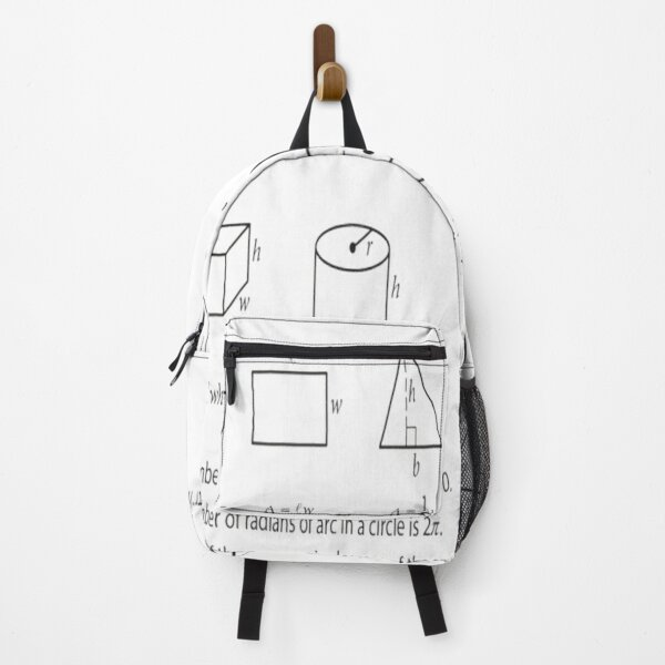 Mathematics, #Formula, #Mathematics, #Equation, #Imaginary, Complex Number, Mathematician, Trigonometric, Functions Backpack