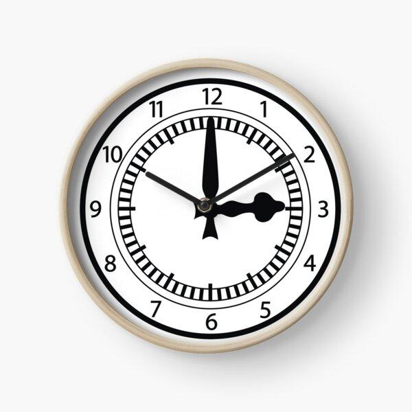 Clock End  Clock