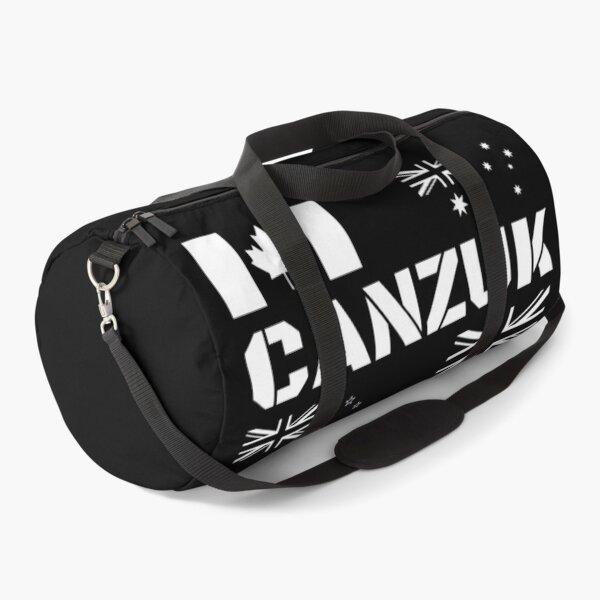 CANZUK Flags in Military Design Duffle Bag