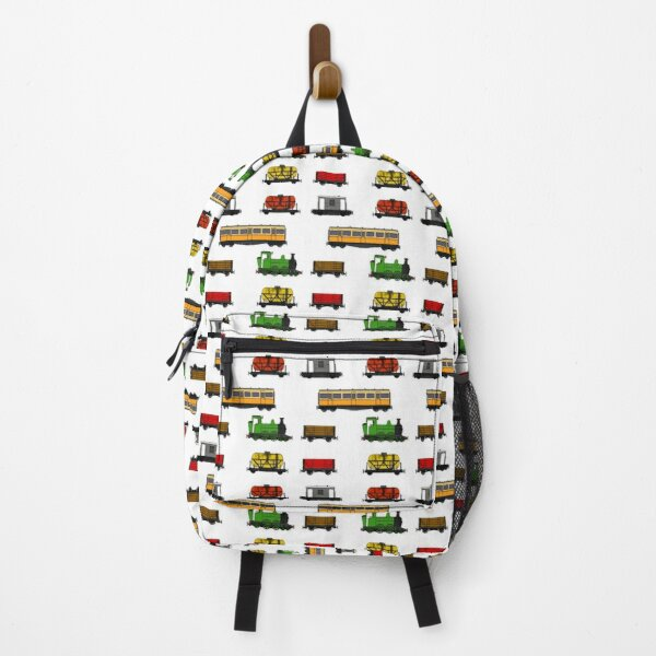 Steam Train Magnet Sticker Pack Pattern Backpack