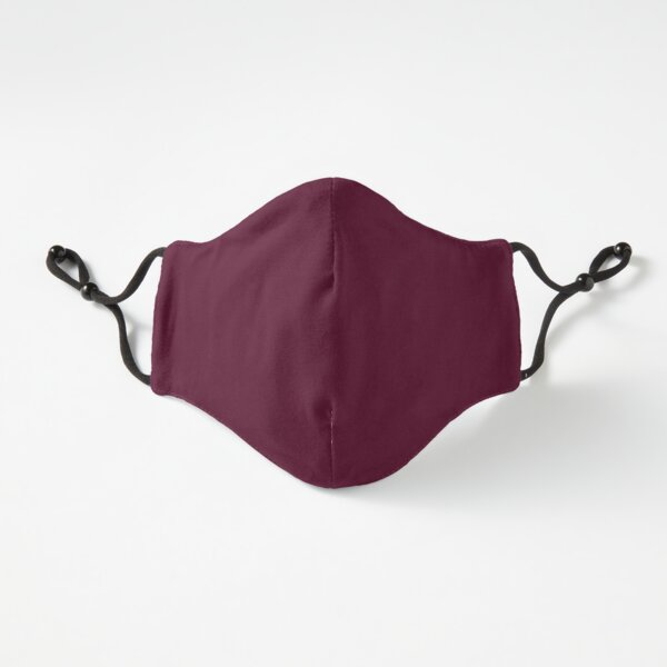 Burgundy solid. Fitted 3-Layer