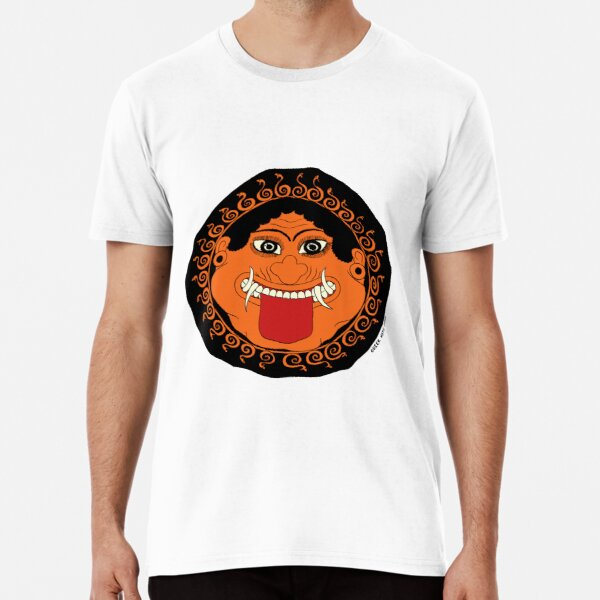 Greek Myth Comix - the GORGON in COLOUR Premium T-Shirt