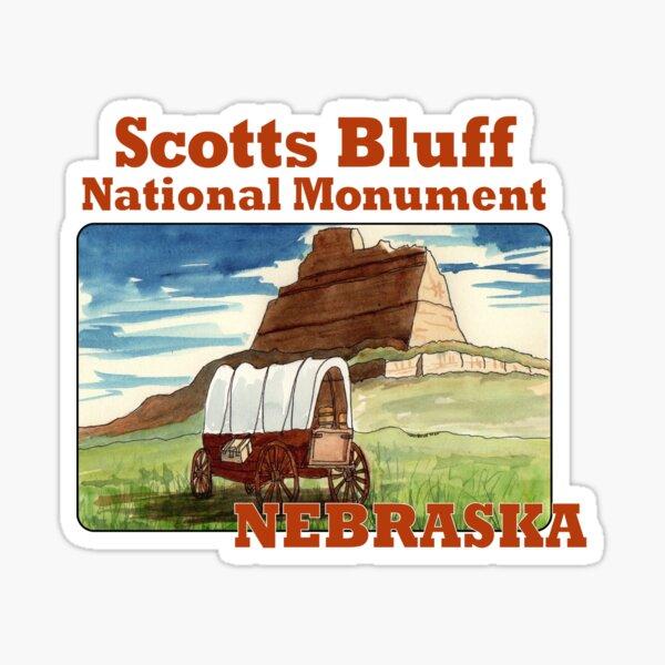 Scotts Bluff National Monument, Nebraska Sticker