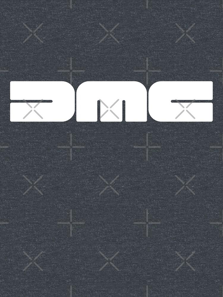 DMC (DeLorean Motor company white version logo) by titovilya123
