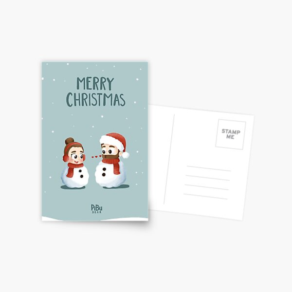 Xmas Card Postcard