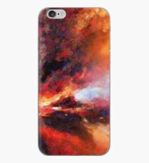 Genesis Abstract Expressionism Art iPhone Case