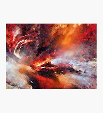 Genesis Abstract Expressionism Art Photographic Print