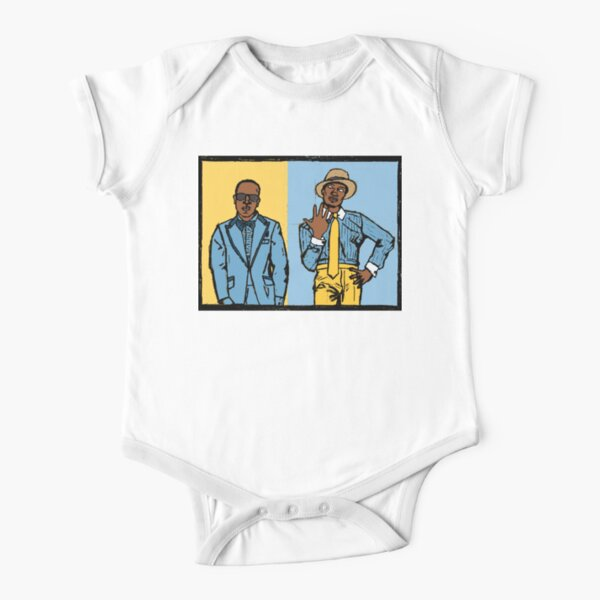 Two Dope Boyz from the ATL Short Sleeve Baby One-Piece