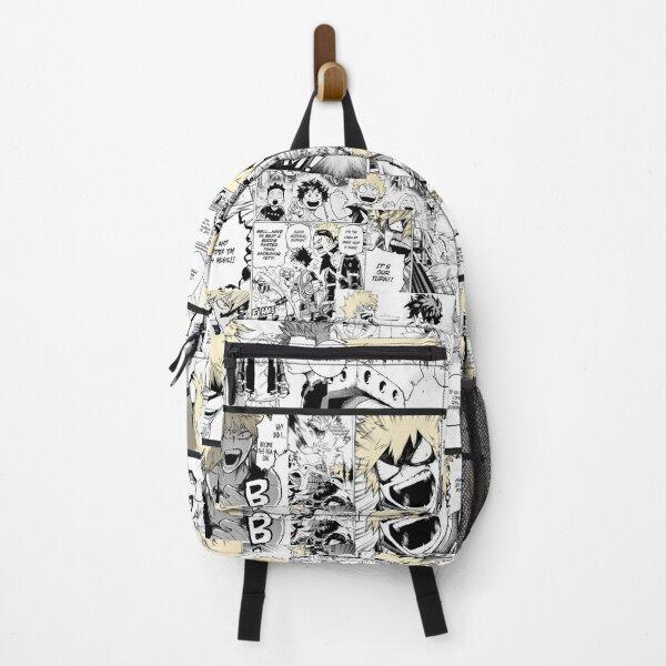 My Hero Academia Katsuki Bakugo Manga Collage  Backpack