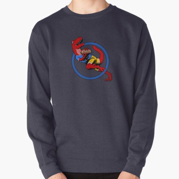 T-Rex American Football Player Pullover Sweatshirt