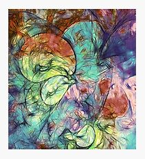 Muted Heaven Abstract Art Photographic Print