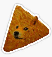 Doge Doritos In Space Sticker