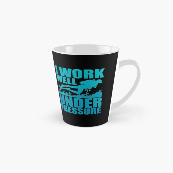I Work Well Under Pressure Scuba Diver Diving Gift Tall Mug