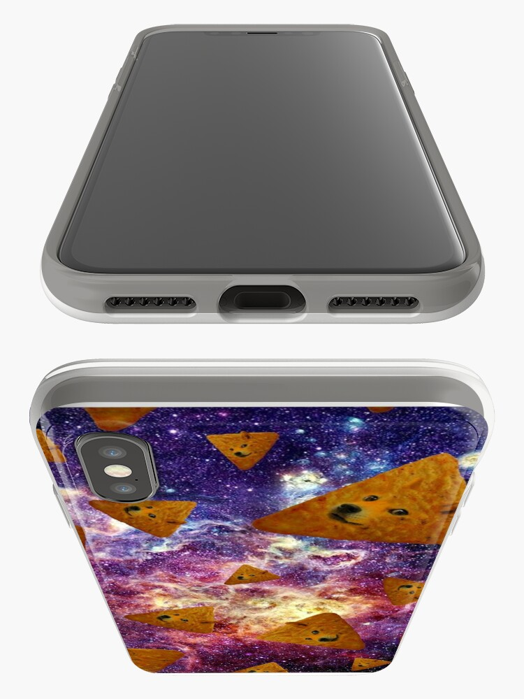 Alternate view of Doge Doritos In Space iPhone Case & Cover