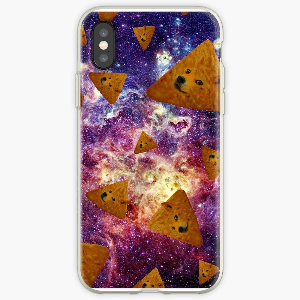 Doge Doritos In Space iPhone Case & Cover