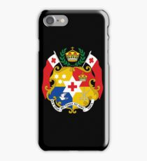 Tonga (Coat of Arms)  iPhone Case/Skin
