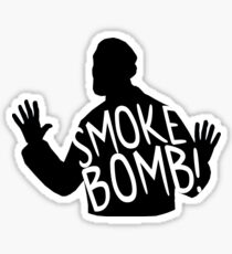 Archer - Krieger Smoke Bomb! Sticker