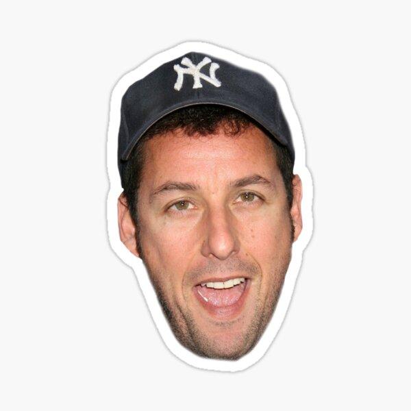 Adam Sandler's Face Sticker