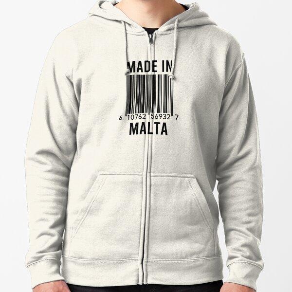 MALTA MALTESE FLAG EMBLEM UNISEX HOODIE HOODED TOP