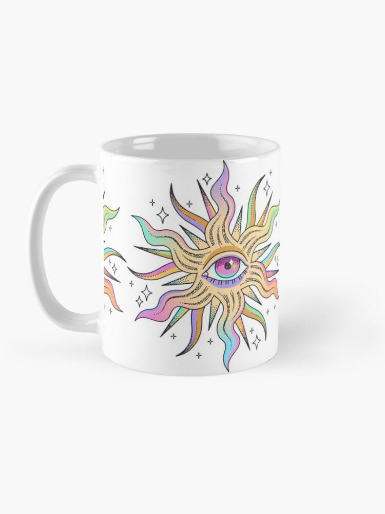 Alternate view of Watching the sun Mug