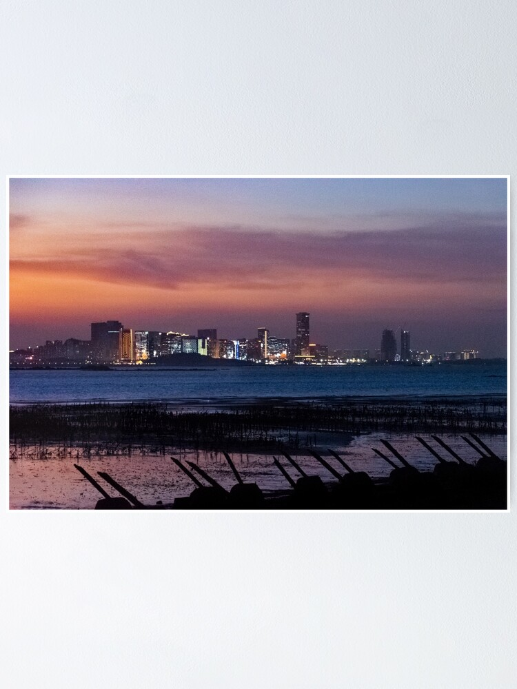 Alternate view of Landscape #1 - Edges of the Cold War: Kinmen to Xiamen Night Poster
