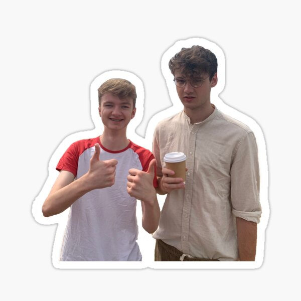 tommy and wilbur ! Sticker