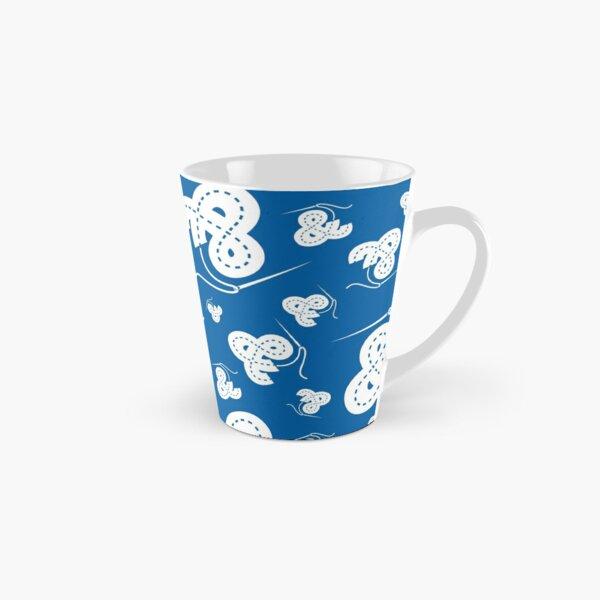 Stitched Ampersand - Blue Tall Mug