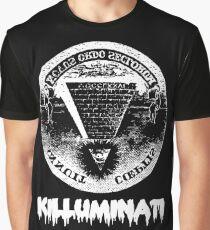 Killuminati-noir T-shirt graphique