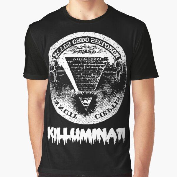 Killuminati-black Graphic T-Shirt