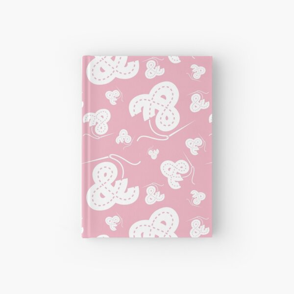 Stitched Ampersand - Light Pink Hardcover Journal