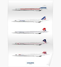 Concorde 1969 To 2003 Poster